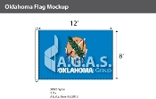 Oklahoma Flags 8x12 foot