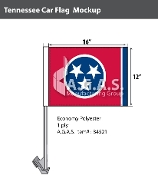 Tennessee Car Flags 12x16 inch