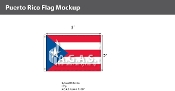 Puerto Rico Flags 2x3 foot