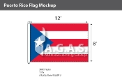 Puerto Rico Flags 8x12 foot