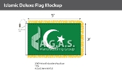 Islamic Deluxe Flags 3x5 foot