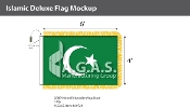Islamic Deluxe Flags 4x6 foot