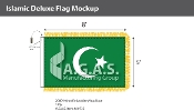 Islamic Deluxe Flags 5x8 foot