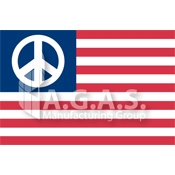 American Peace Flags