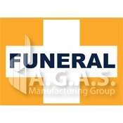 Funeral Cross Car Flags