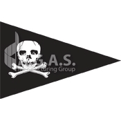 Jolly Roger Pennant Flags