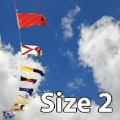 Size 2 International Code of Signals