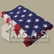 USA Cotton Embroidered Flags