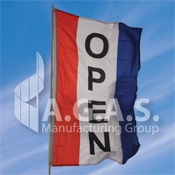Vertical Message Flags | 3 Vertical Stripes